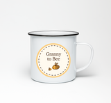 Granny to Bumble Bee Enamel Mug