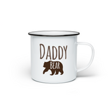 Daddy Bear Enamel Mug