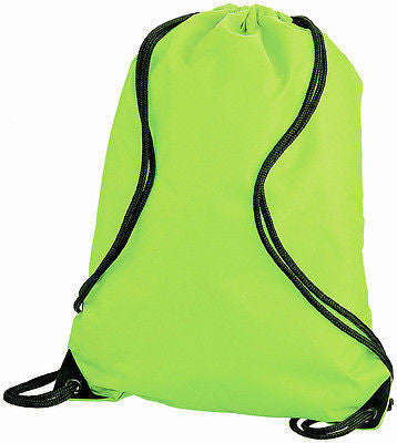 PACK OF 10 School Drawstring Bags - Promofix Gifts   - 2