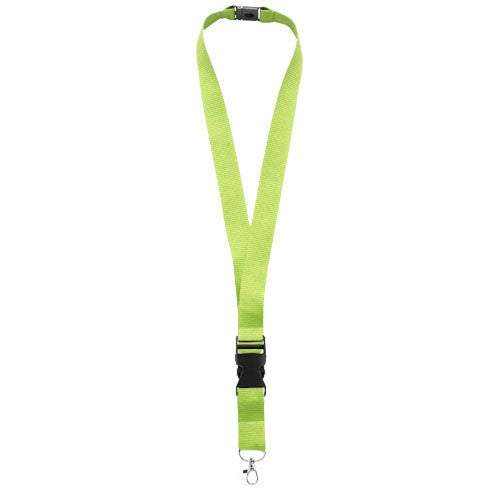 PACK OF 10 Lanyard with Metal Clip & Safety Break - Promofix Gifts   - 1
