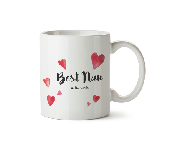 Best Nan in the World Mug - Promofix Gifts