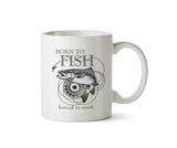 Born to fish mug - Promofix Gifts