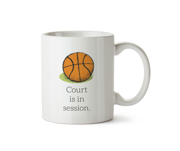 Court Is In Session Mug