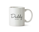 Mummy Est.2016 and Daddy Est.2016 Pair of Mugs - Promofix Gifts   - 2