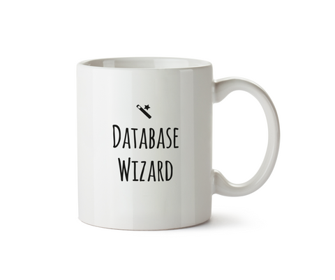 Database Wizard Mug - Promofix Gifts