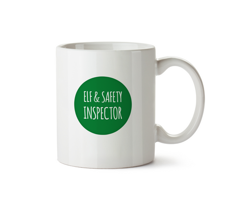 Elf & Safety Inspector Mug - Promofix Gifts