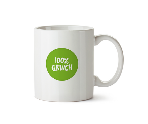 100% Grinch Mug - Promofix Gifts