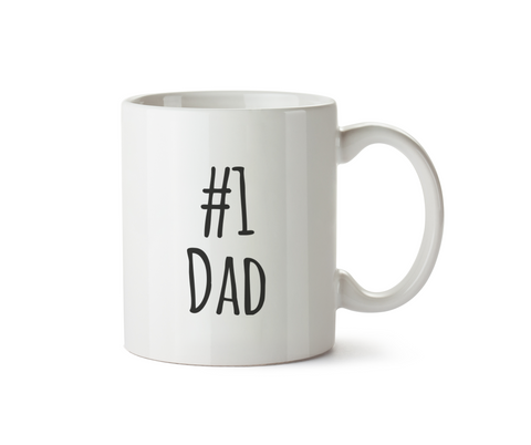 #1 Dad Mug - Promofix Gifts