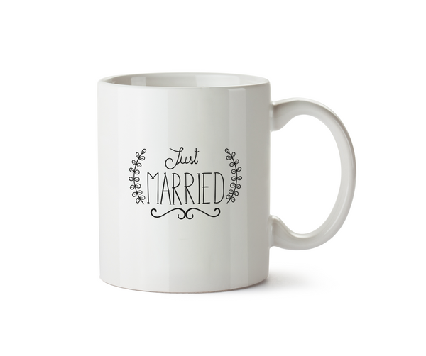 Just Married Mug - Promofix Gifts