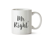 Mr. Right Mug - Promofix Gifts