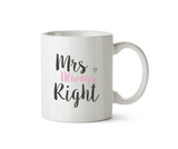 Mrs. Always Right Mug - Promofix Gifts
