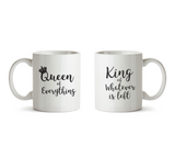 King and Queen Mugs - Promofix Gifts
