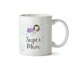 Super Mum Mug - Brunette Version - Promofix Gifts