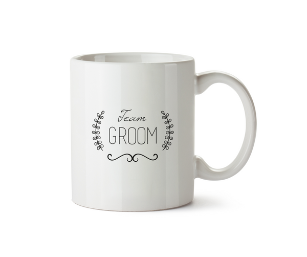 Team Groom Mug - Promofix Gifts