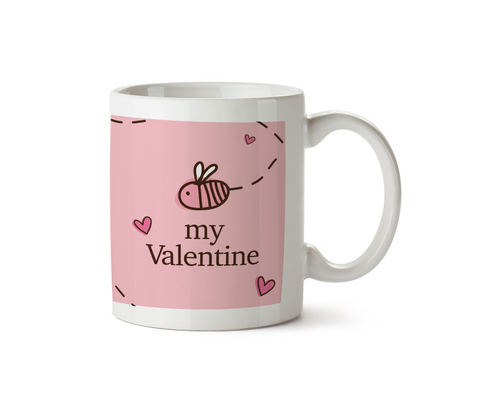 Bee My Valentine - Bumble Bee Design - Promofix Gifts