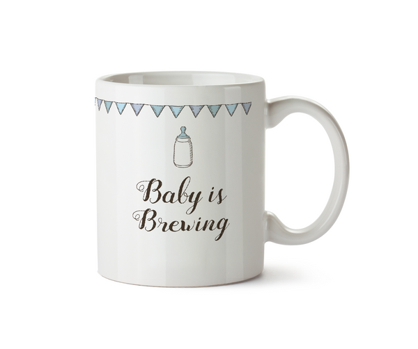 Baby is Brewing Ceramic Mug