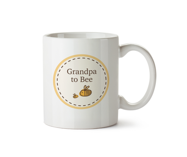 Grandpa To Be Ceramic Mug - Bumble Bee Circle Range