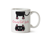 Crazy Cat Lady Ceramic Mug