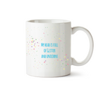 My Head Is Full Of Glitter & Unicorns Mug - Promofix Gifts   - 2