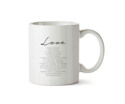Love Is Mug - Promofix Gifts