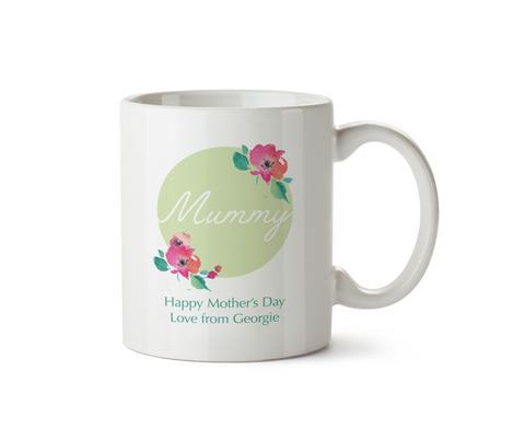 Personalised Happy Mothers Day Mug