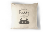 Best Cat Daddy Cushion Personalised