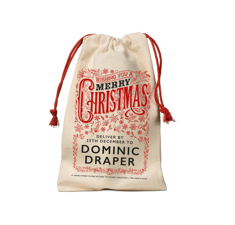 Personalised Christmas Sack Small