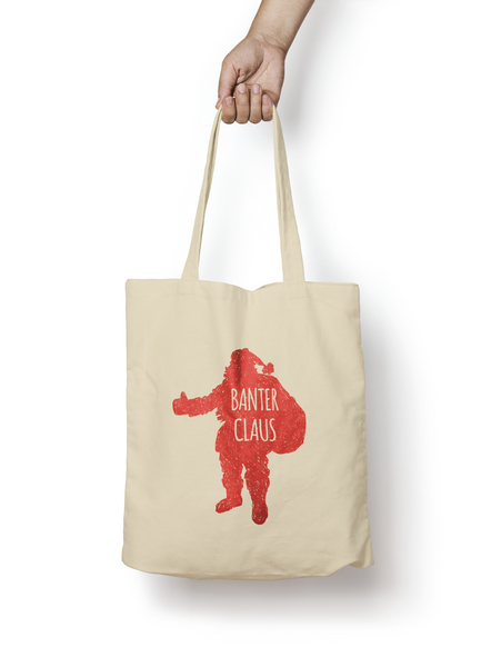 Banter Claus Cotton Tote Bag - Promofix Gifts