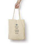 Libraries: Where SHHH Happens Cotton Tote Bag - Promofix Gifts