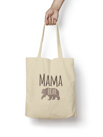 Mama Bear Cotton Tote Bag - Promofix Gifts
