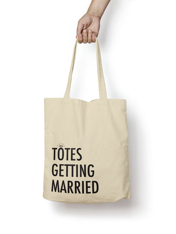 Totes Getting Married Cotton Tote Bag - Promofix Gifts