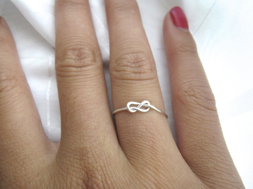 Infinity Knot Ring - Designed By Lei