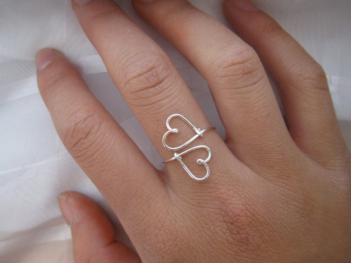 Heart to Heart Ring - Designed By Lei
