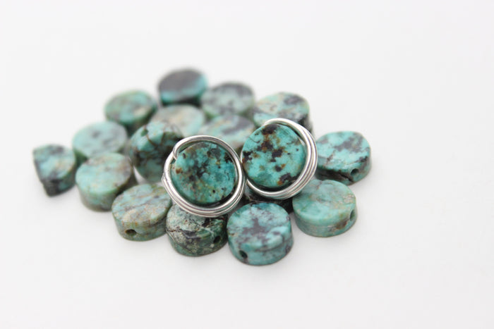 Turquoise Earrings - Designed By Lei
