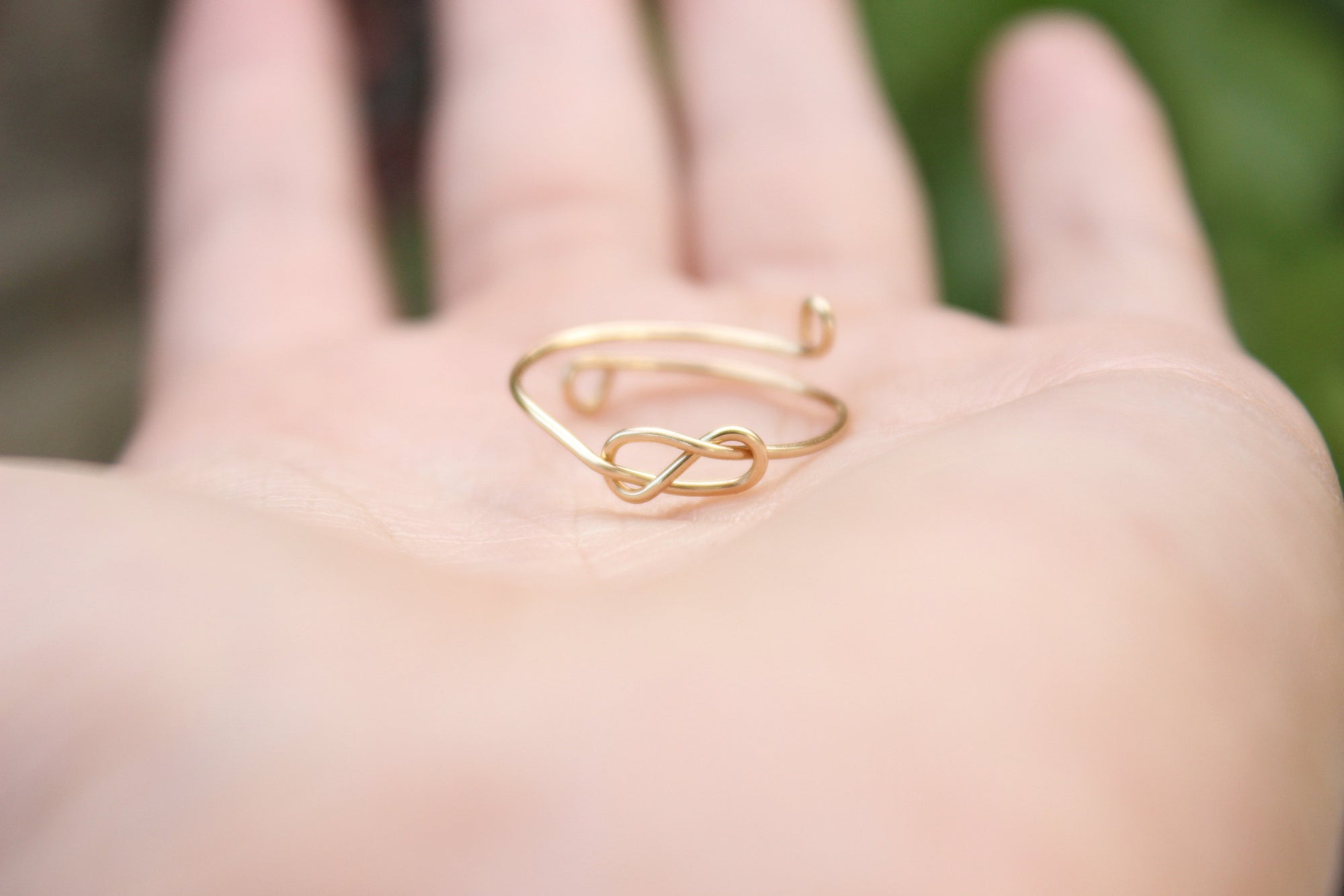 Infinity Knot Ring – Designed By Lei