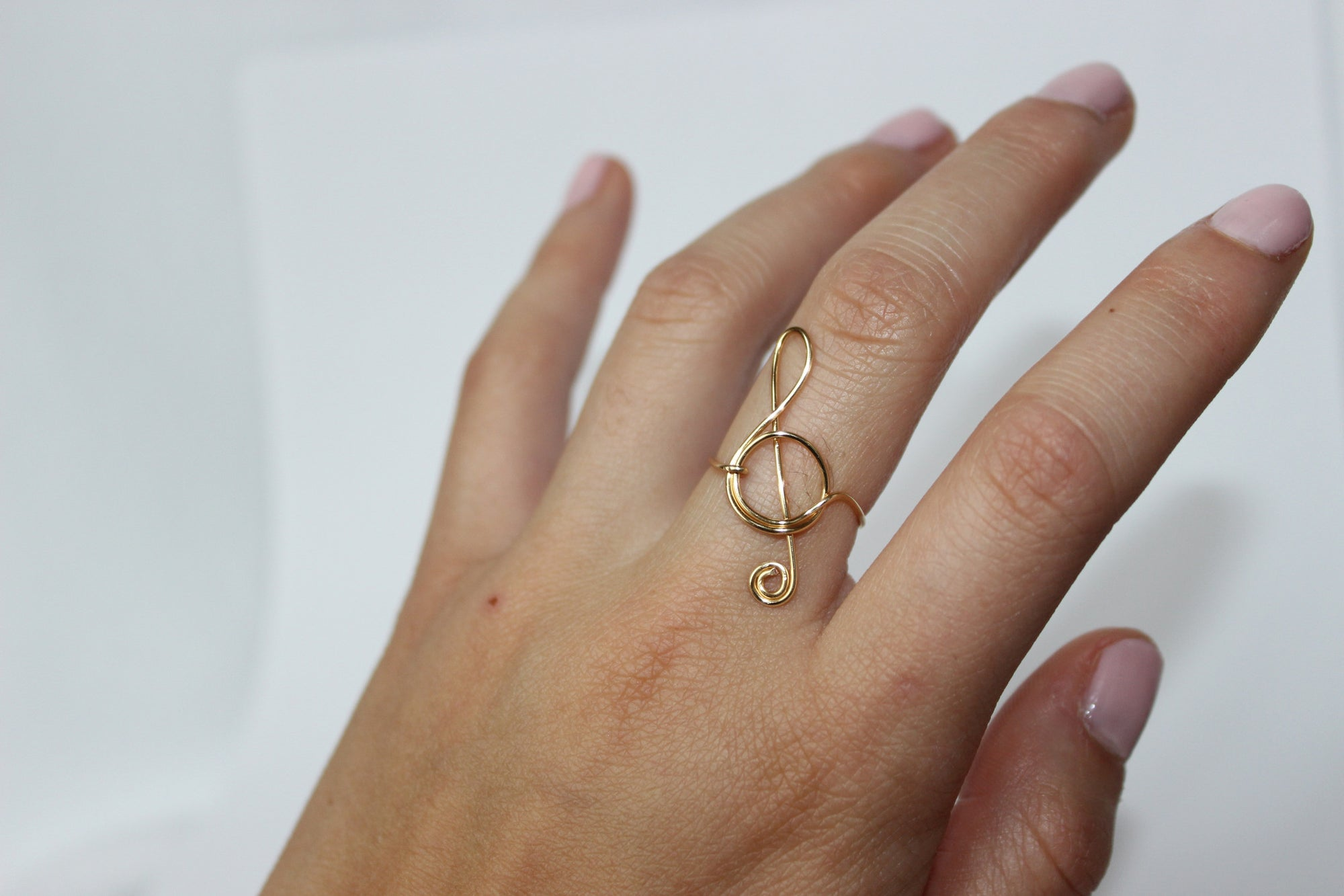 ... Treble Clef Ring - Designed By Lei ... 63b805fd9081