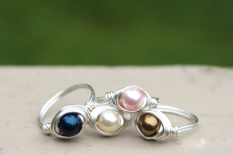 Pearl Ring - Designed By Lei