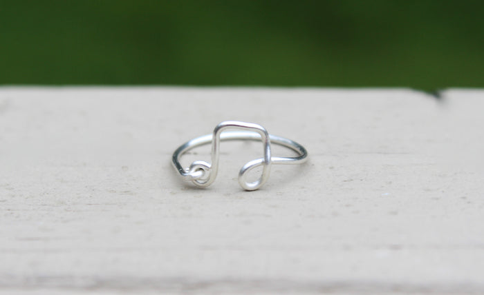 Music Note Ring - Designed By Lei