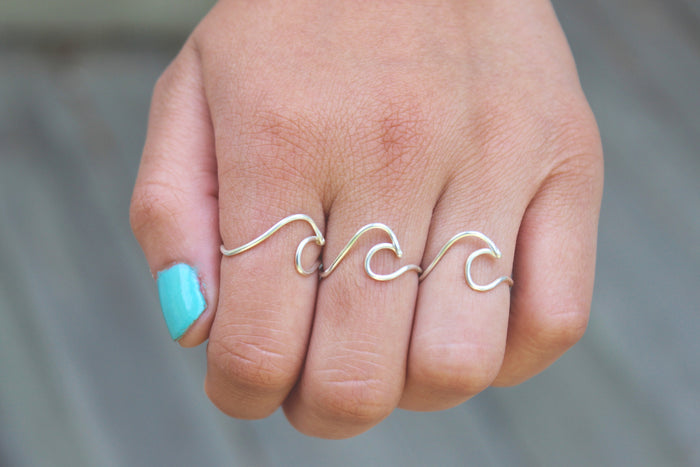 Wave Ring - Designed By Lei