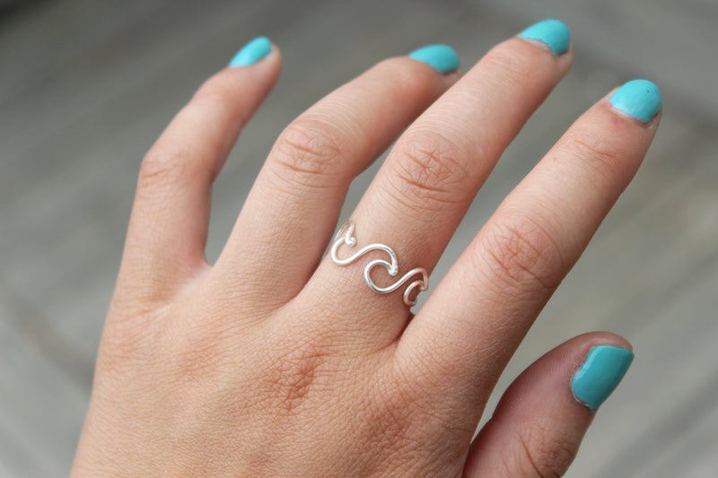 Triple Wave Ring - Designed By Lei