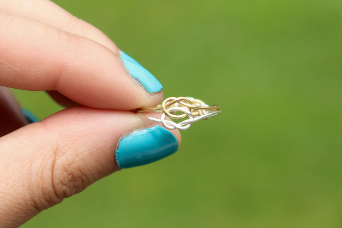 Double Knot Ring - Designed By Lei