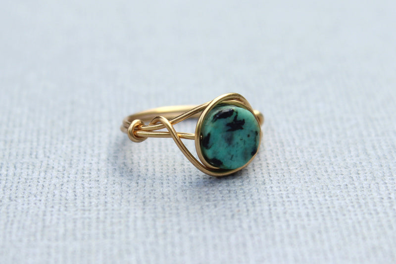 Turquoise Ring - Designed By Lei