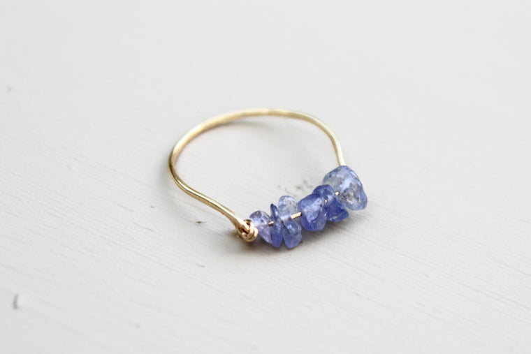 Tanzanite Gemstone Ring