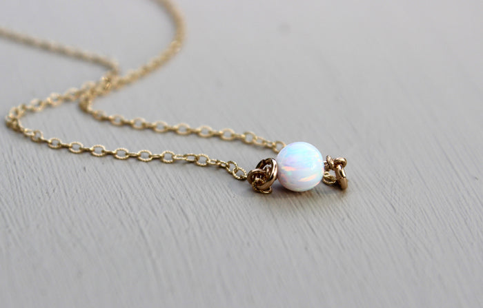 Opal Necklace - Designed By Lei