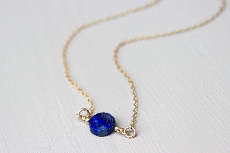 Lapis Lazuli Necklace - Designed By Lei
