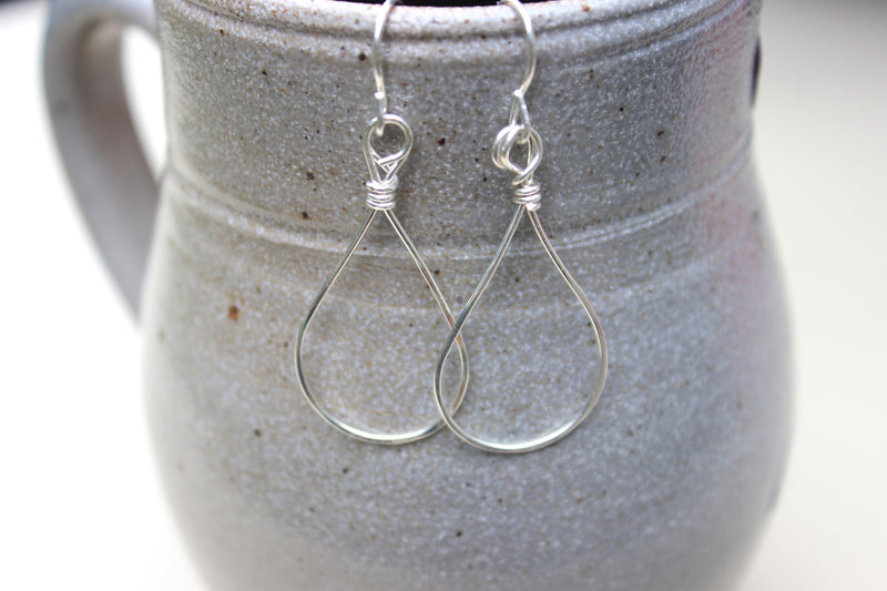 Minimalist Drop Earrings - Designed By Lei
