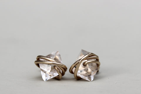 Herkimer Diamond Earrings
