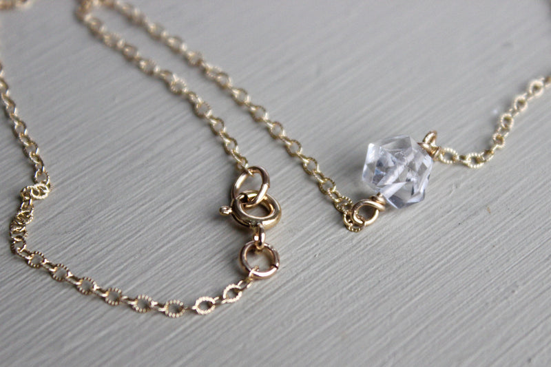 Herkimer Diamond Necklace - Designed By Lei