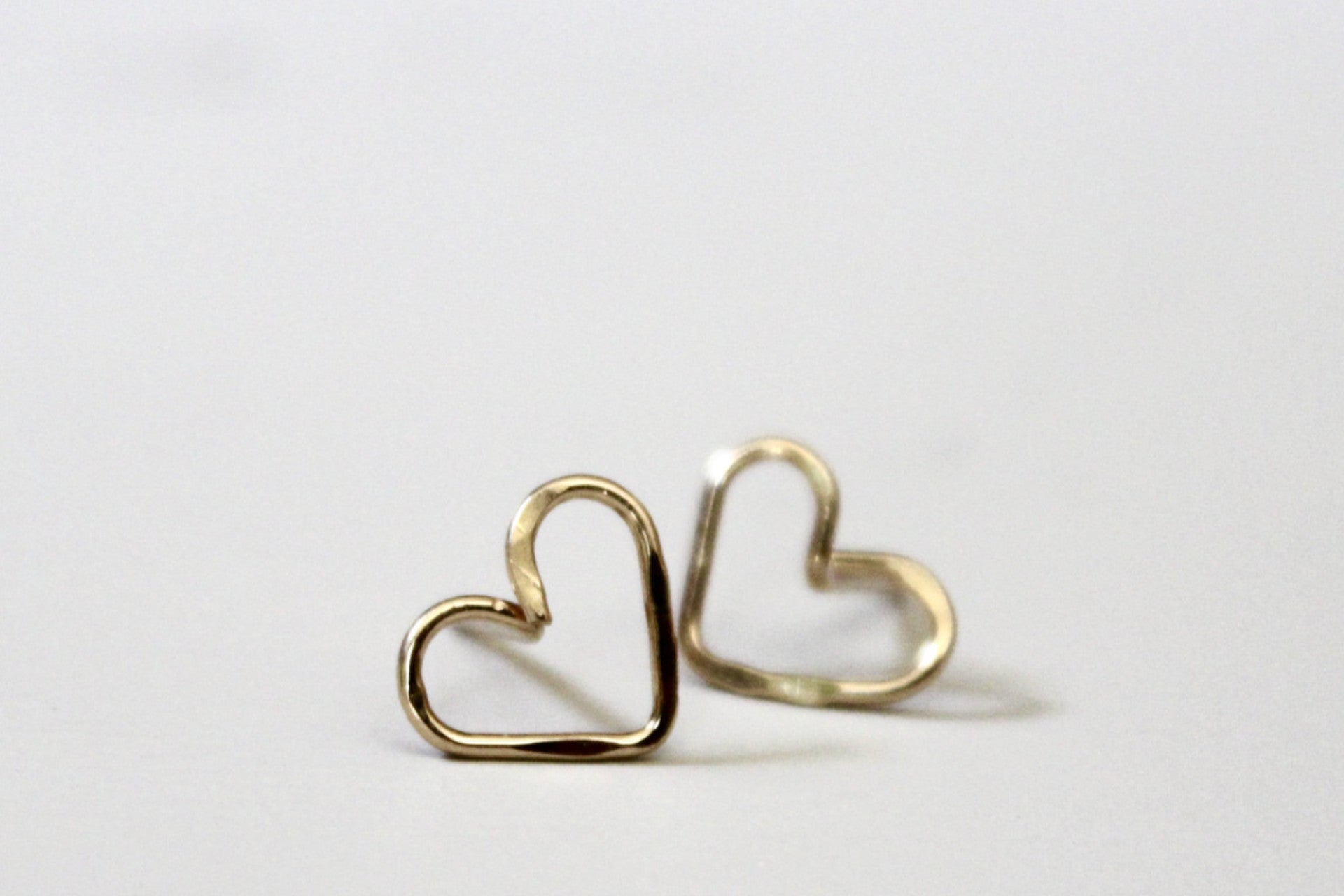 Heart Earrings - Designed By Lei