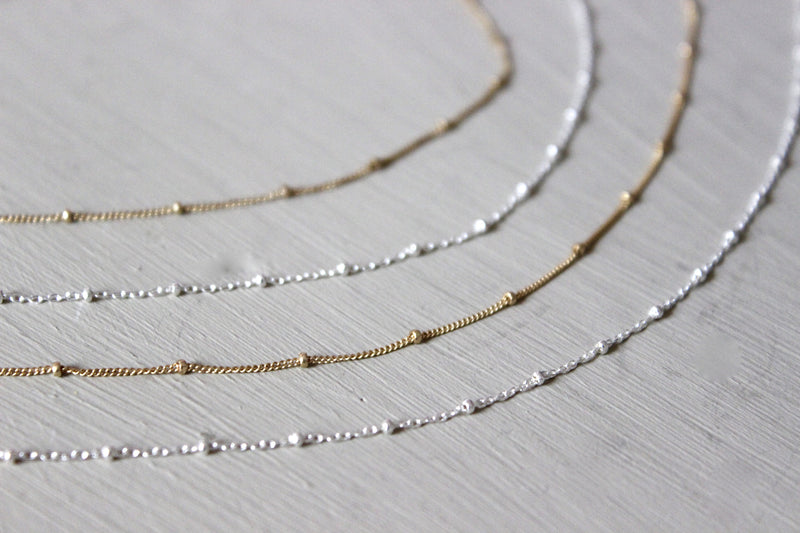 Satellite Chain Necklace - Designed By Lei